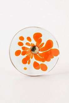 Molten Spectrum Knob, Orange Flower