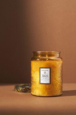 Limited Edition Voluspa Cut Glass Jar Candle