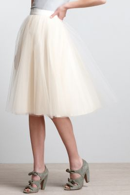 Karinska Tulle Skirt Anthropologie.com :  skirt
