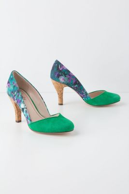 Floral Hayden Pumps