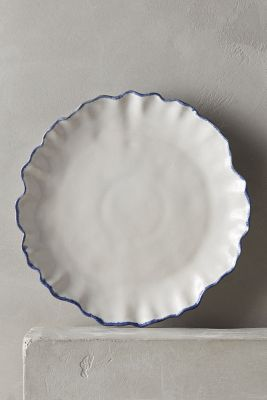 Ruffled Rim Side Plate