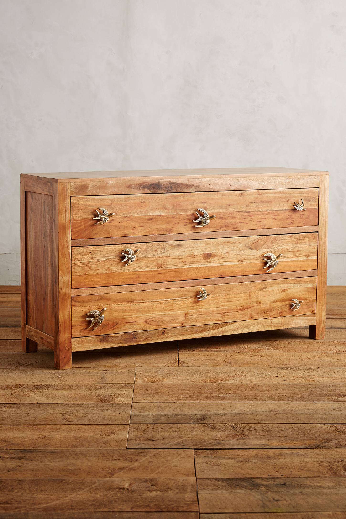 Passerine Three Drawer Dresser