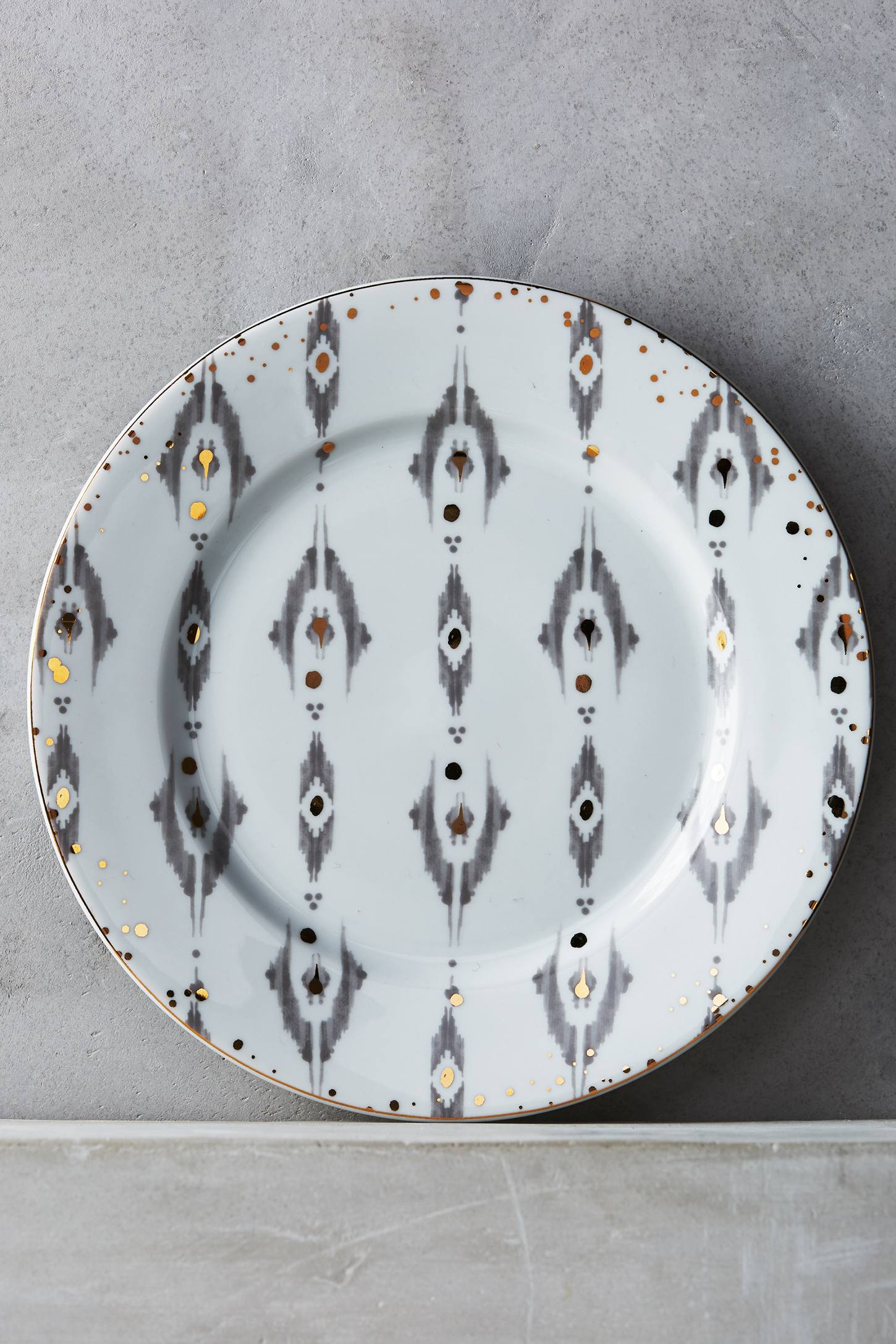 Ikat Thistle Side Plate