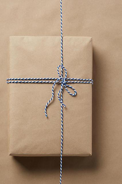 Kraft paper wrap