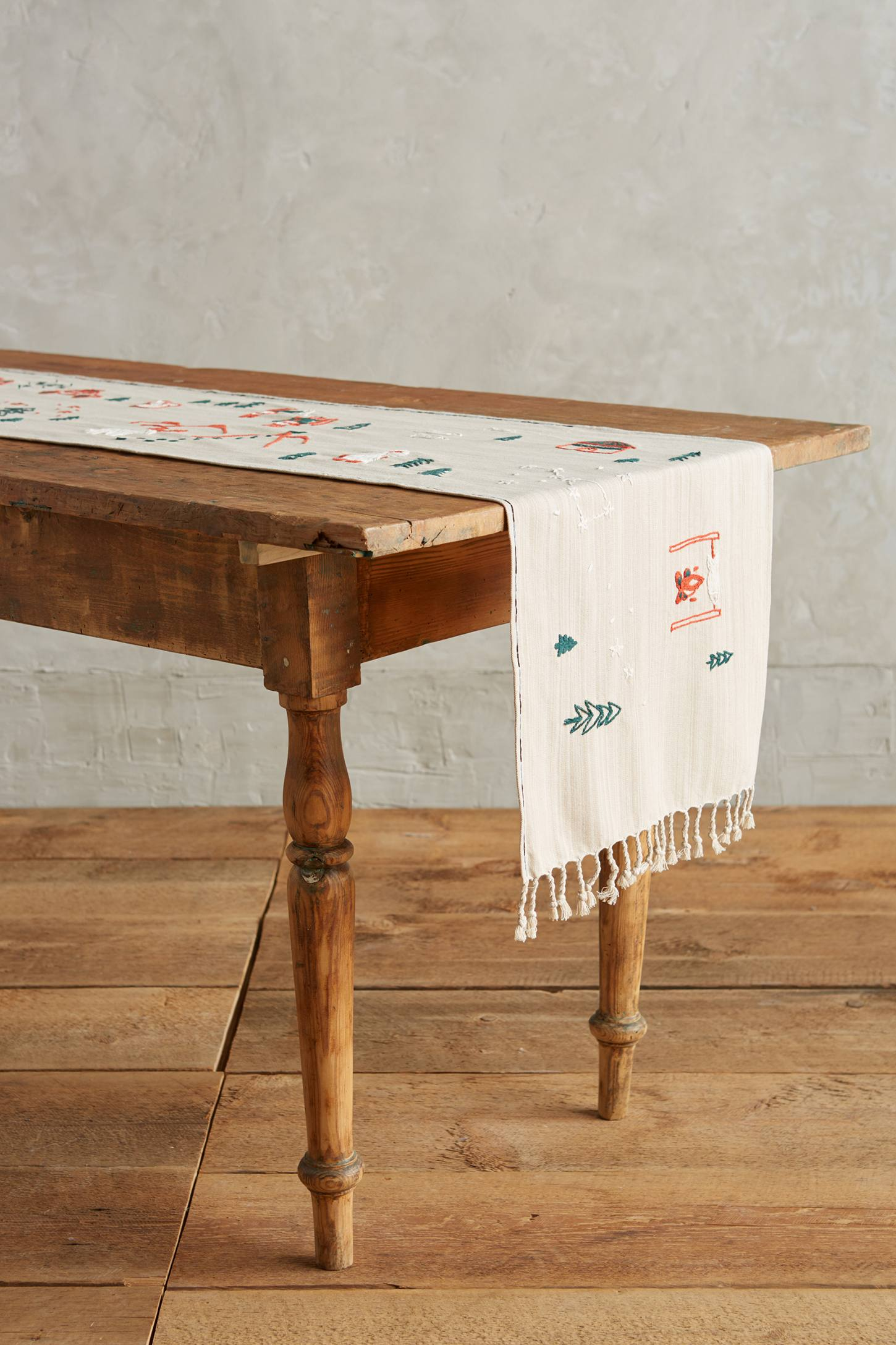 Arctic Village Table Runner