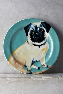Dog-a-Day Dessert Plate