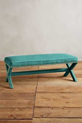 Linen Wilmette Bench