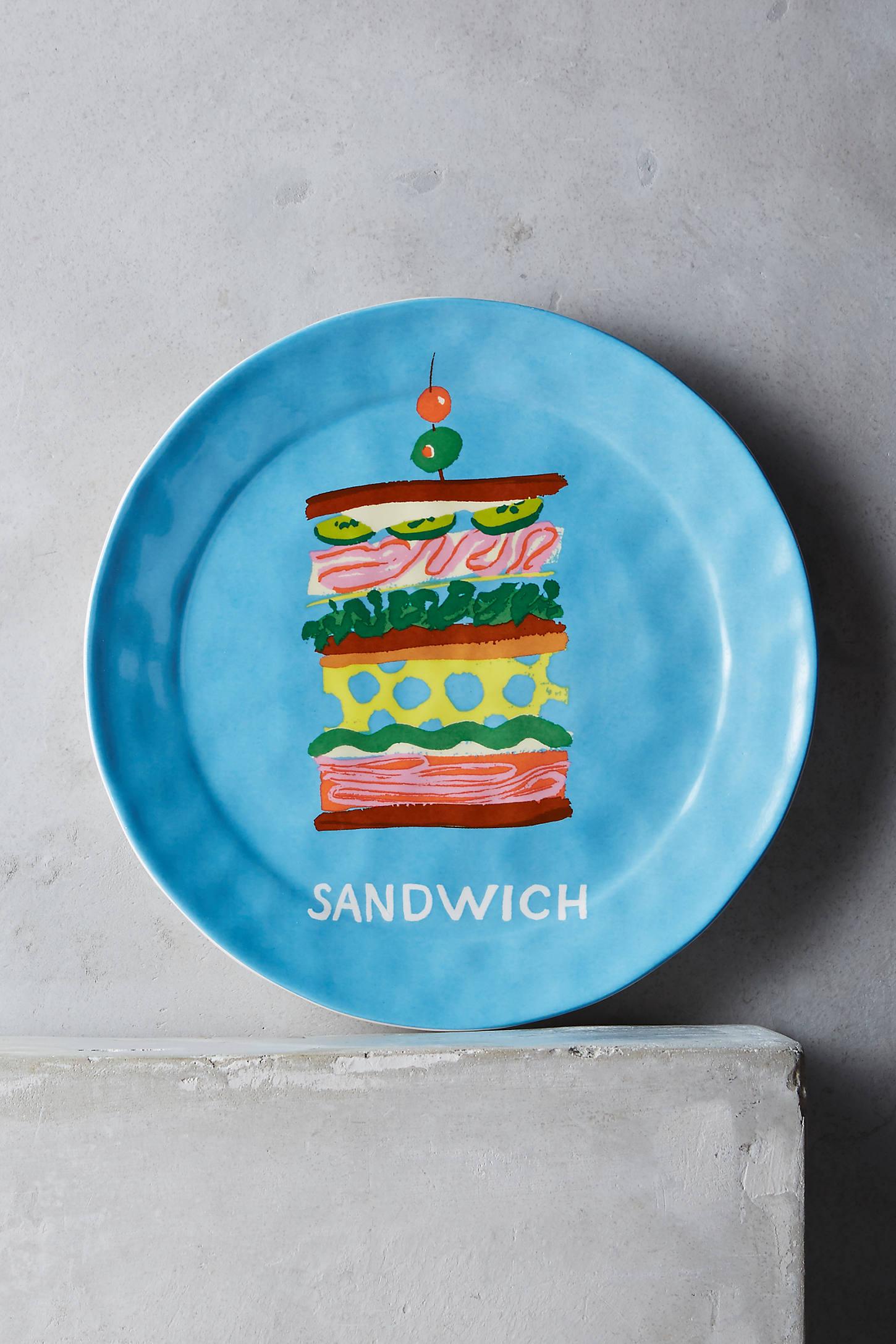 Pictorial Dessert Plate