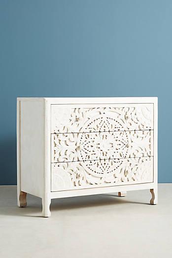 Lombok Three-Drawer Dresser