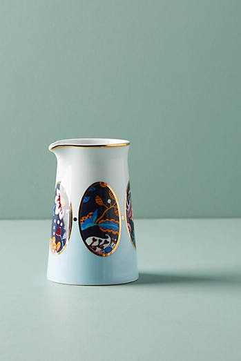Liberty for Anthropologie Mabelle Floral Creamer