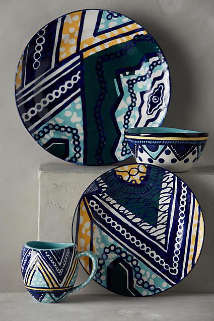 They also sell coasters & Habari Dinnerware u2013 Anthropologie | Homafrica