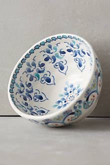 Swirled Symmetry Bowl