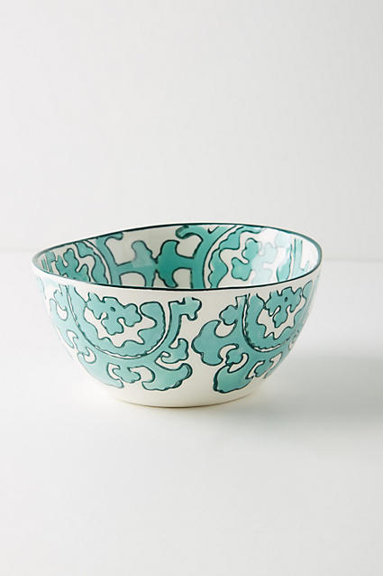 Gloriosa Cereal Bowl - anthropologie.com
