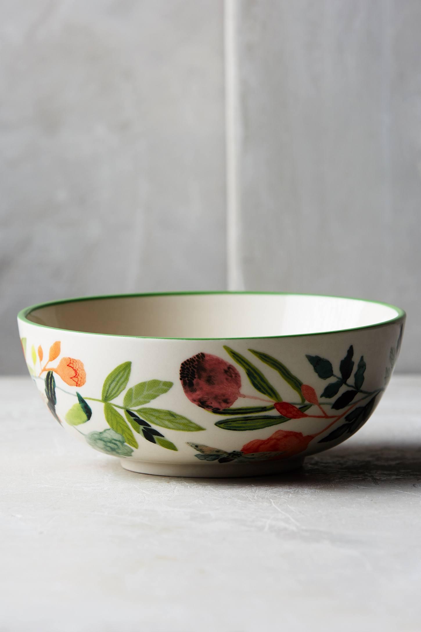 Botanical Burst Bowl