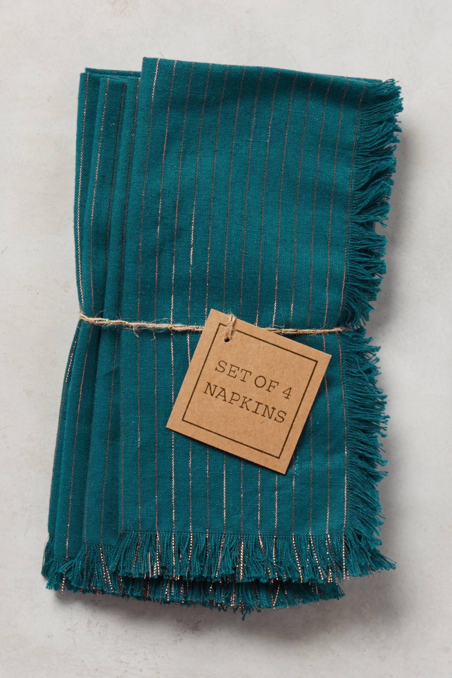 Shimmer Stripe Napkins