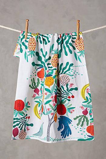 Fruit Tree Dishtowel