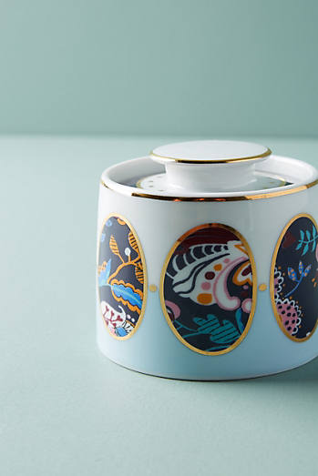 Liberty for Anthropologie Mabelle Floral Sugar Pot