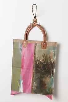 Still Life Bag, Pink Stripe