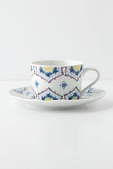 Spinning Vessels Cup & Saucer