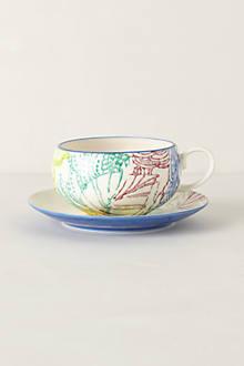 Radiant Petals Teacup