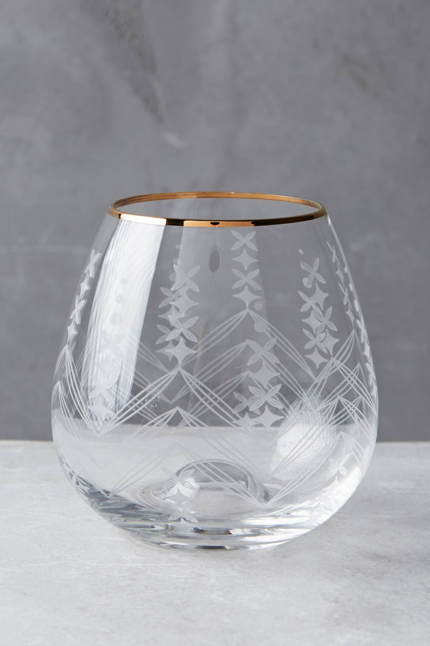 Gilt-Edged Tumbler