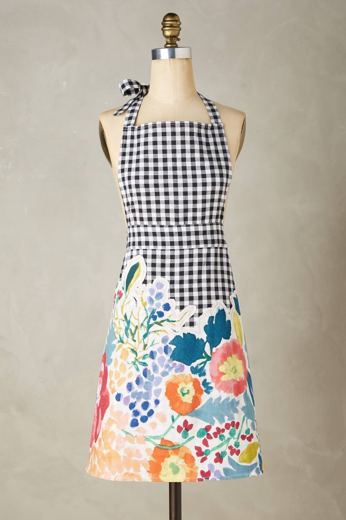 Bearing Flowers Apron