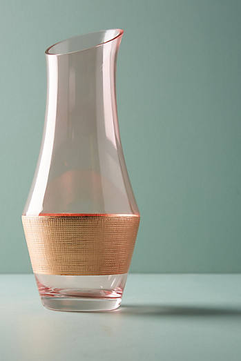 Copper Rose Carafe