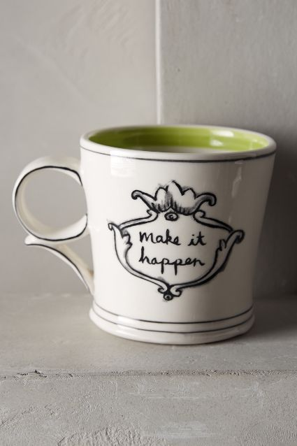 make it happen etsy inspirational mug