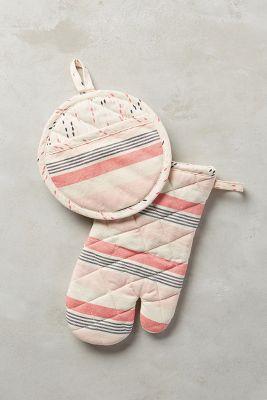 Beachchair Stripe Potholders