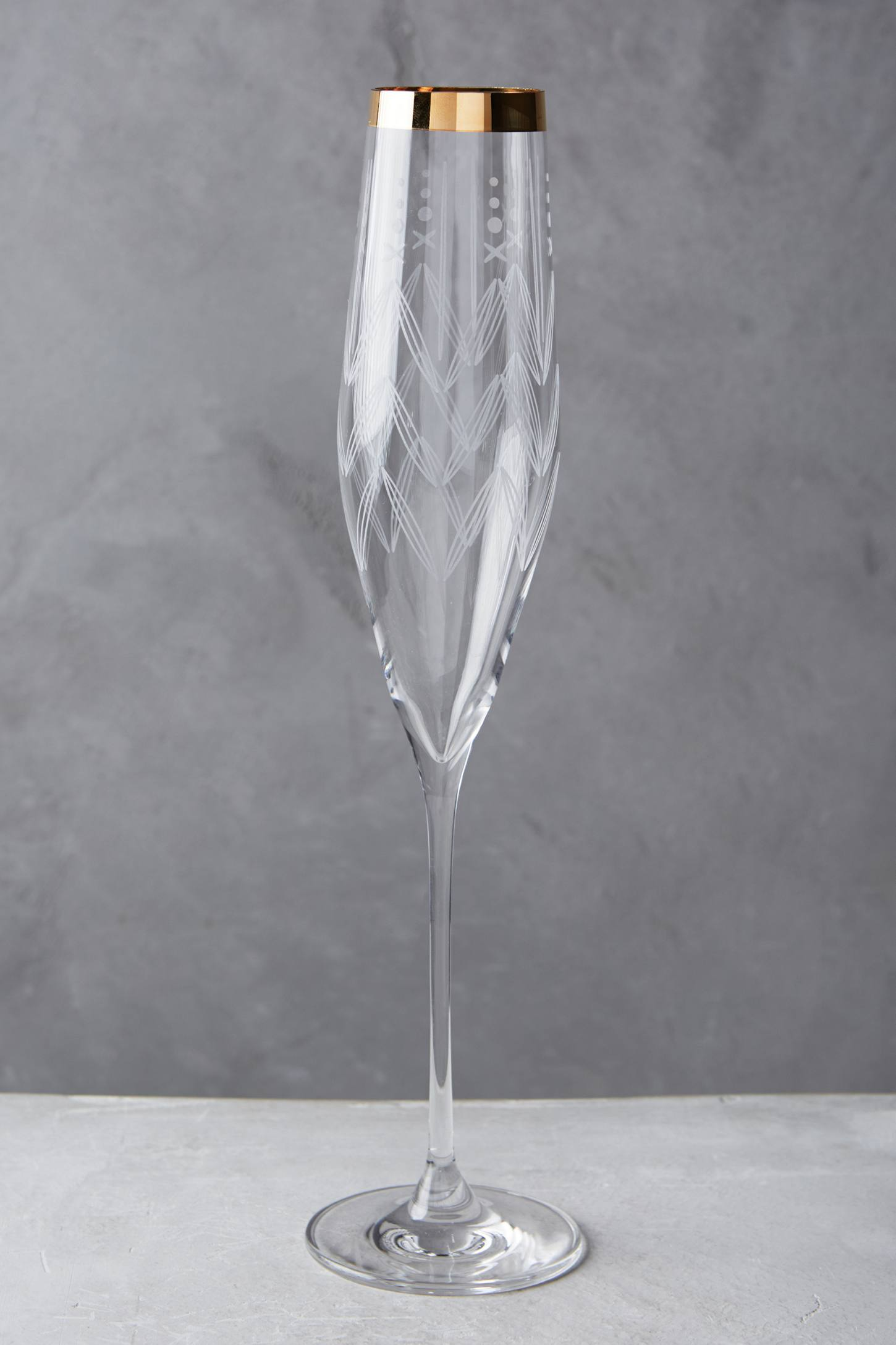 Lucasta Champagne Glass