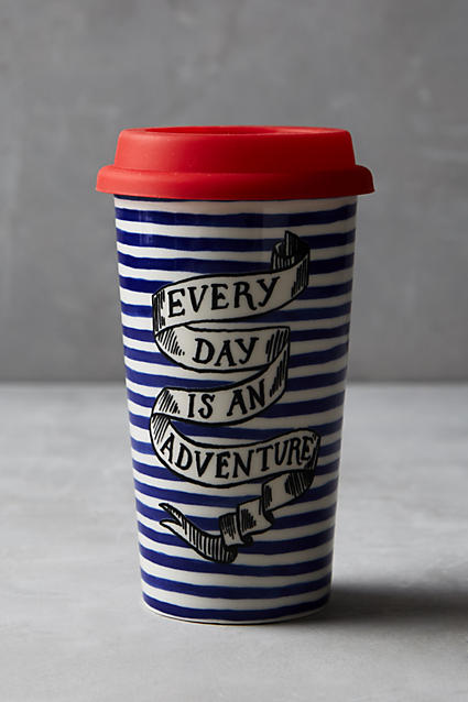 Every Day is an Adventure Travel Mug