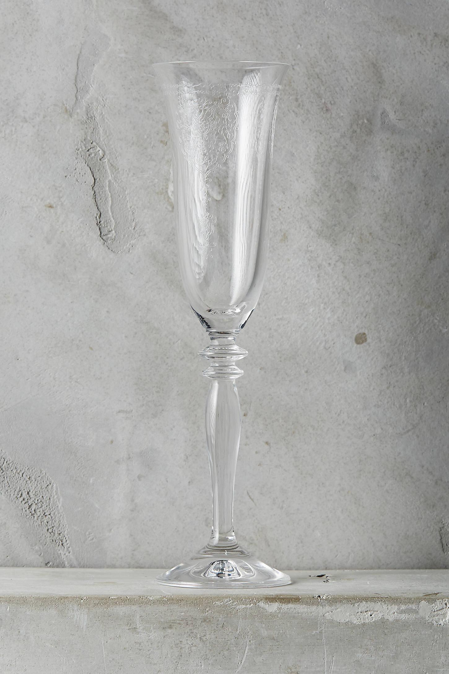 Alexia Flute Glass