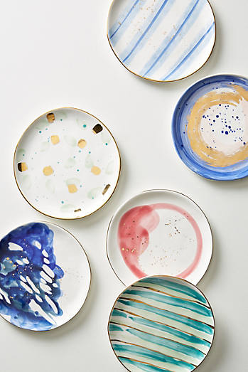 Kitchen dining anthropologie for Calligrapher canape plate anthropologie