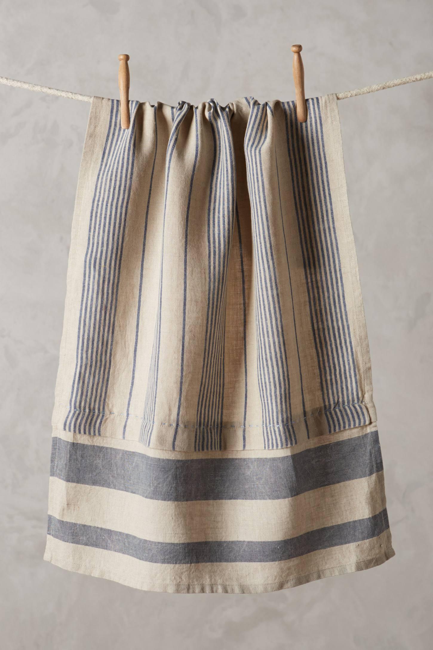 Linen Market Tea Towel