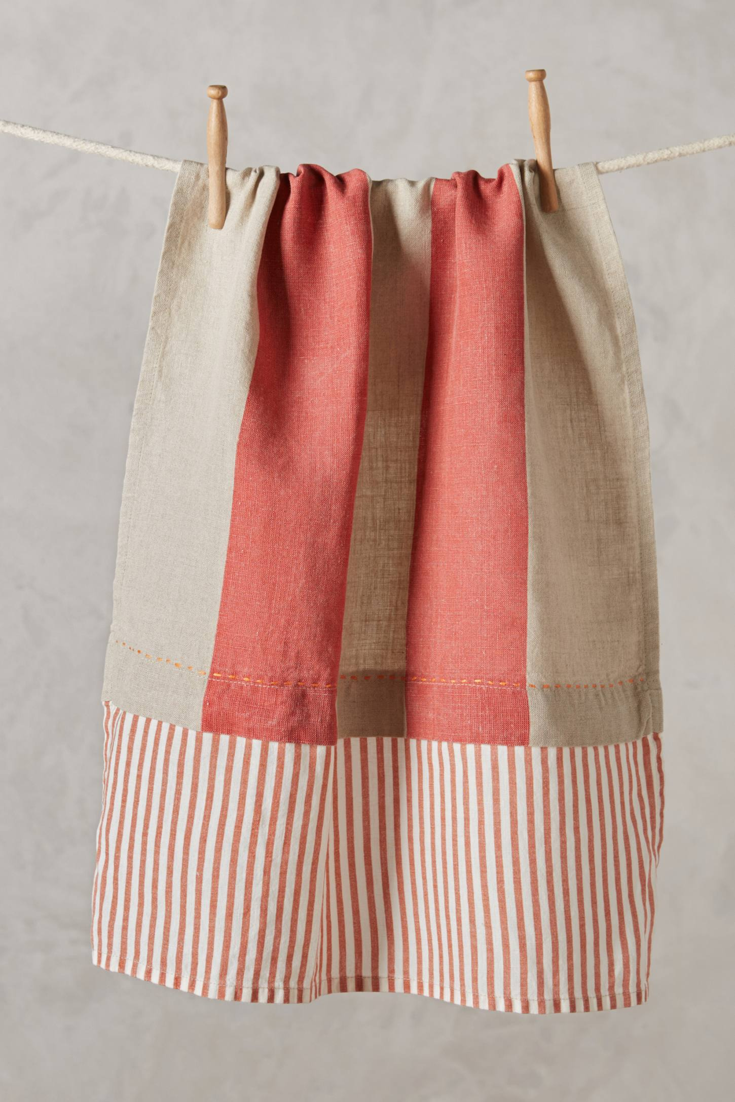 Linen Market Tea Towel