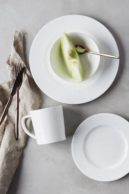 Caskata Summer White Four-Piece Place Setting