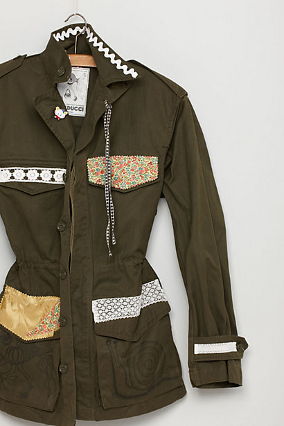Madeline Army Jacket-Madeline Army Jacket
