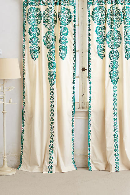 Shoptagr marrakech curtain by anthropologie for Online stores like anthropologie