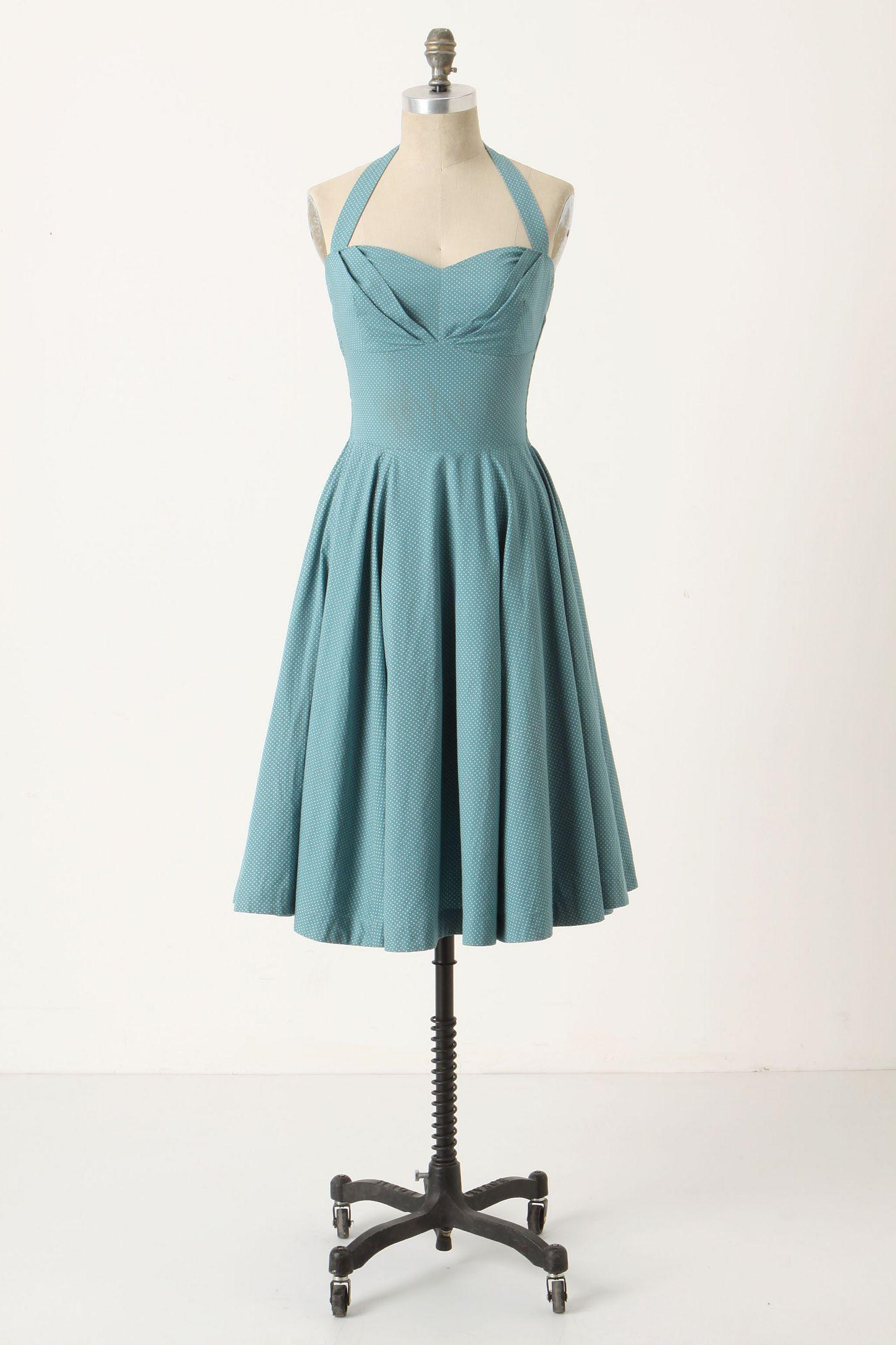 Traced Twirls Dress | Anthropologie