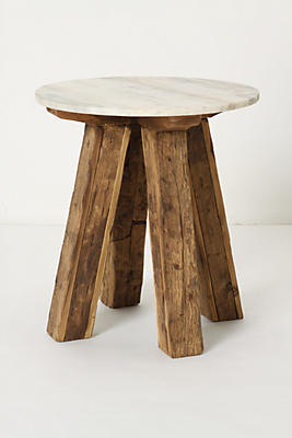 marble top side table Marble Top Side Table | Anthropologie marble top side table