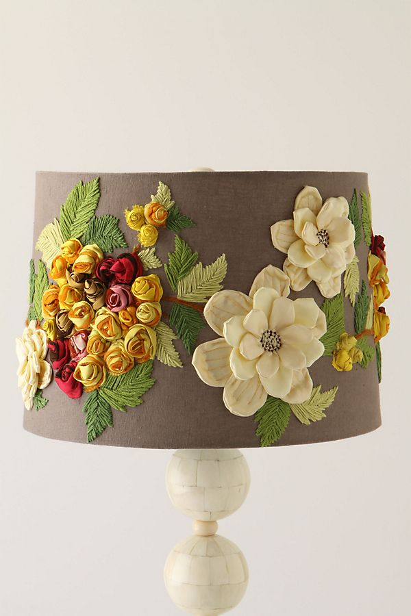 Rose landscape lampshade anthropologie rose landscape lampshade aloadofball Image collections
