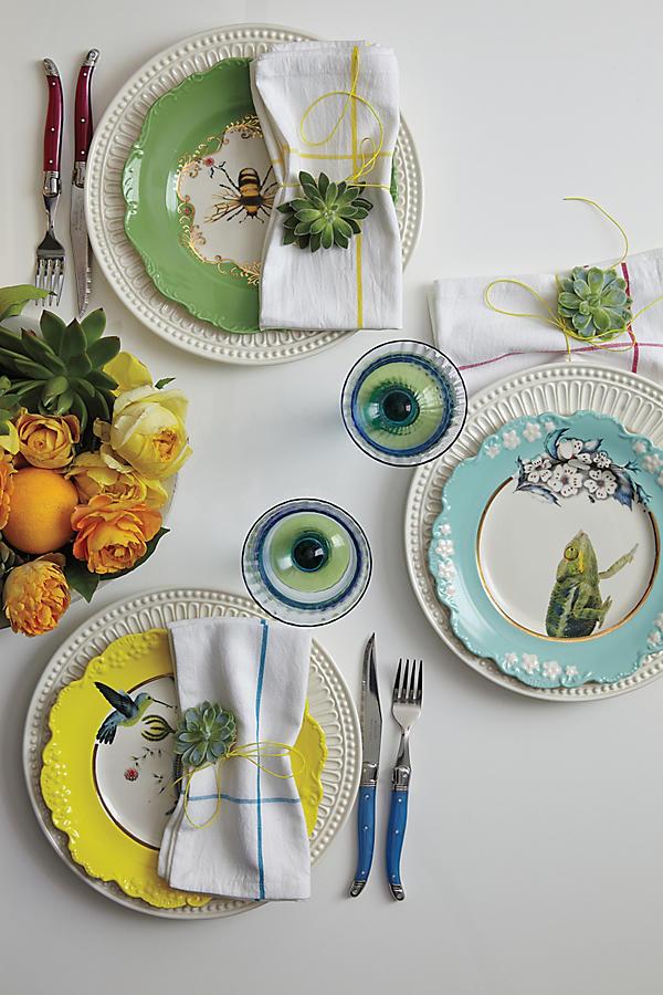 Natural world plate humming bird anthropologie slide view 2 natural world plate humming bird junglespirit Choice Image