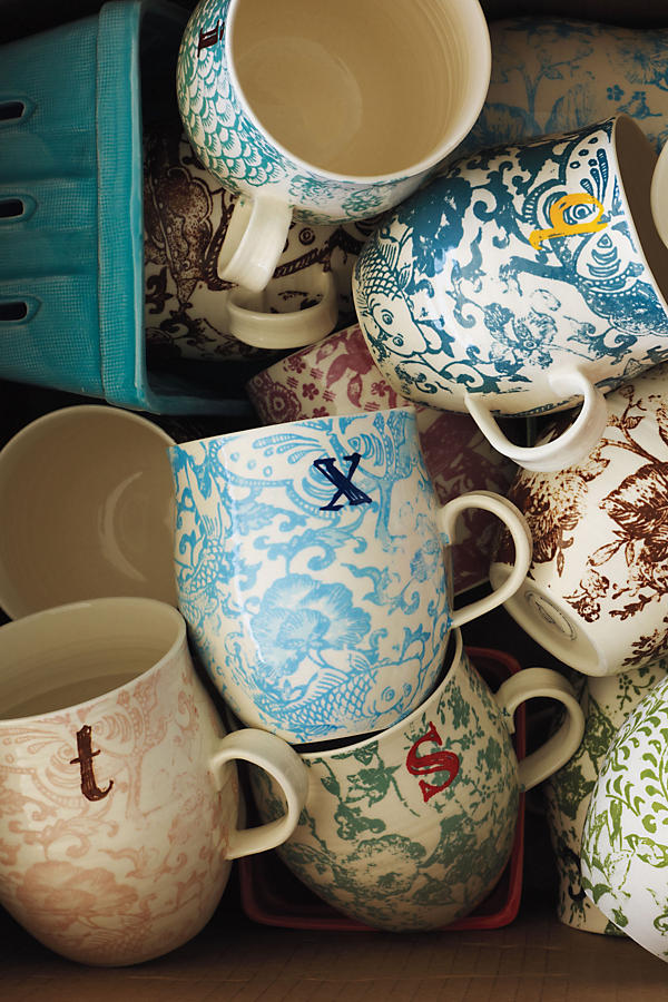 Slide View: 4: Homegrown Monogram Mug