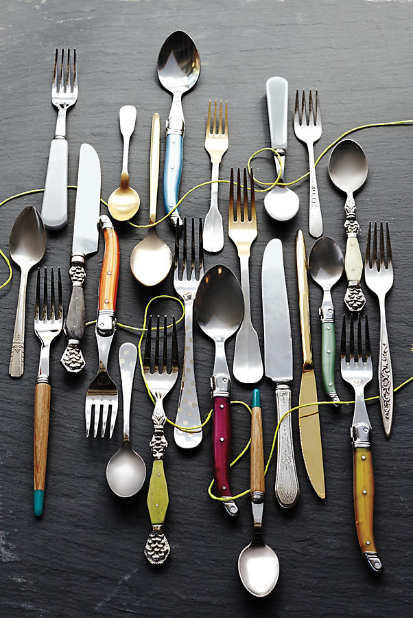 Slide View: 3: Rediscovered Flatware