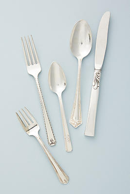 Slide View: 1: Rediscovered Flatware
