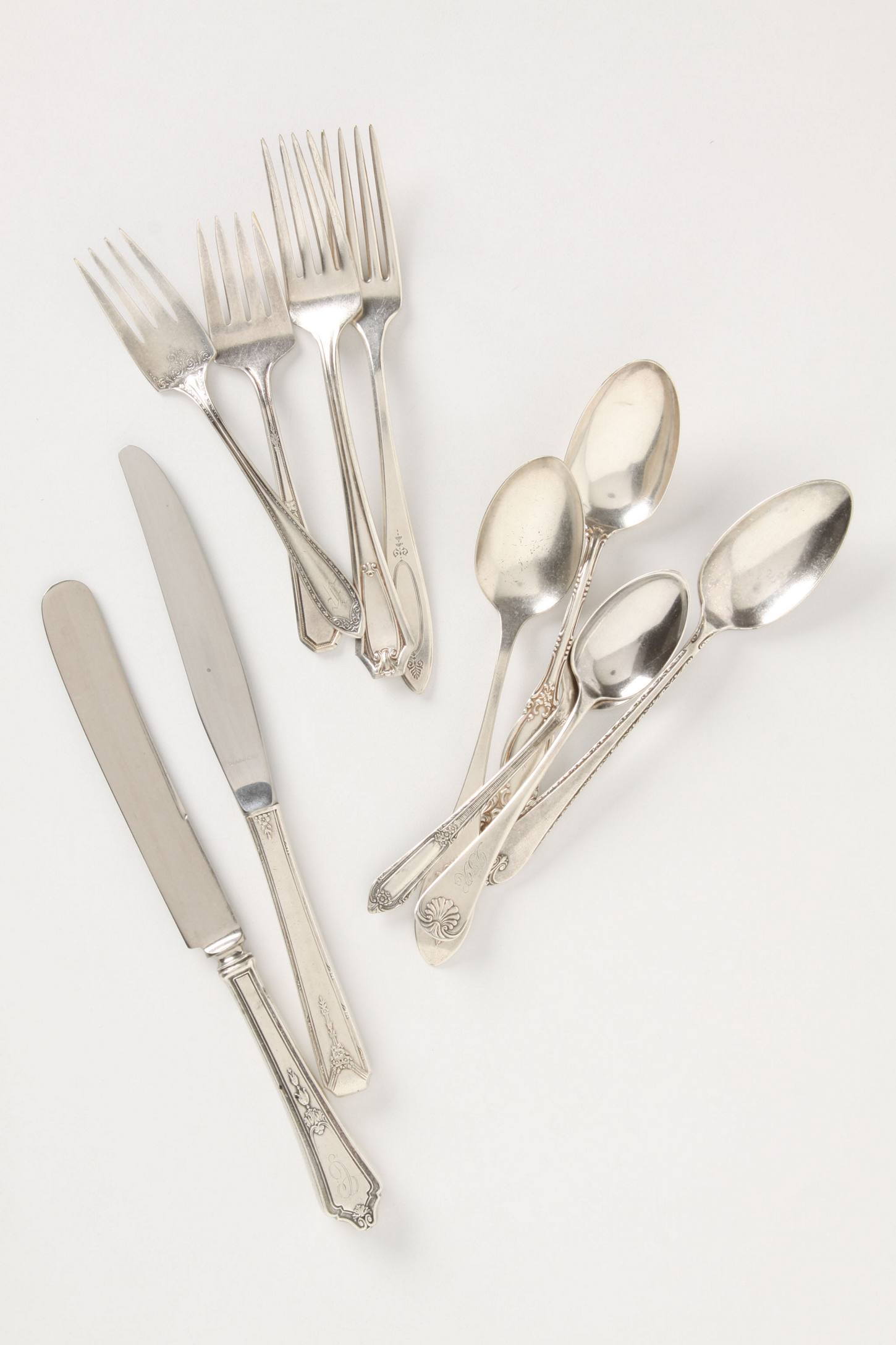 Slide View: 2: Rediscovered Flatware