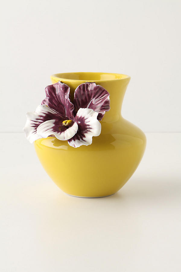 Slide View: 1: Pretty Pansy Vase