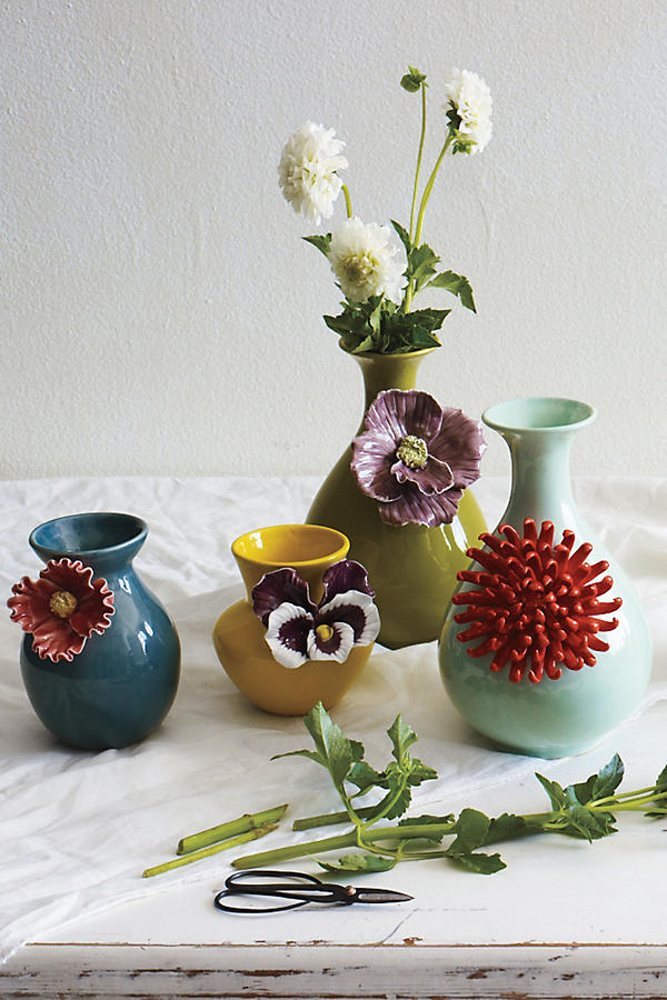 Slide View: 3: Pretty Pansy Vase