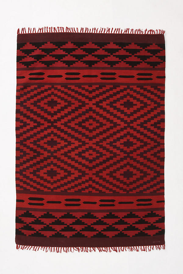 Slide View: 1: Saturated Rhombus Rug
