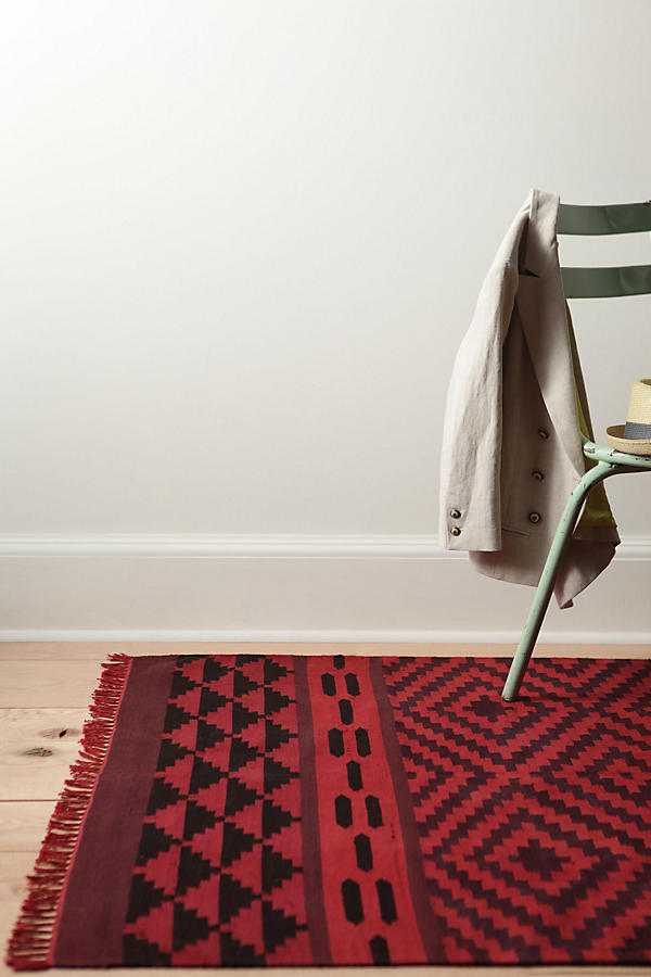 Slide View: 3: Saturated Rhombus Rug